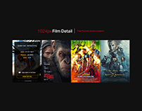 Film Detail / Free Psd and html-css code review
