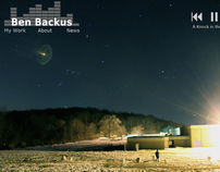 Ben Backus Music Website