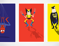 Superheroes Illustrations