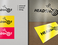 Headshot. My first graphic design as it is.