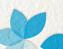 Brand identity - A touch of blue
