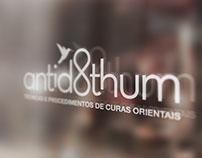 Antidothum Terapias Branding