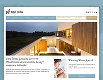 Hotel Minho Website Redesign