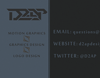 D2AP Designs Business Card