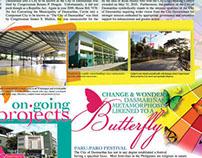 Page Design for Paru-Paro Festival Press Release
