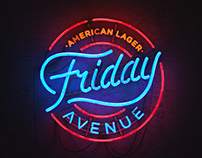 Friday Avenue American Lager