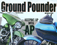 AP Alan Powell featured in Ground Pounder Magazine