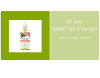 St Ive's Grean Tea Cleanser
