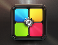 App Icon Design - Rotix Game