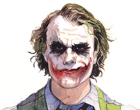 Heath Ledger (The Joker)