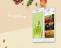 Papa's Garden Mobile App