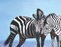 gift of the sky (zebras)