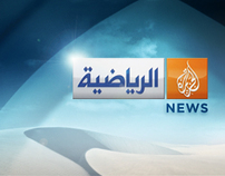 Al Jazeera Sport Channel // Identity Design // Mrs. K