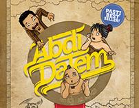Abdi Dalem. Comic Cover