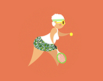 Sexy Mamy Tennis