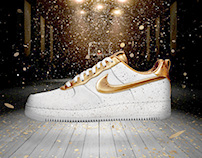 Nike Air Force 1 XXX • Golden One