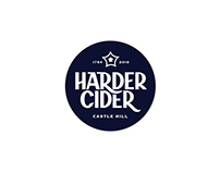 Harder Cider Identity / Big Pippin Packaging