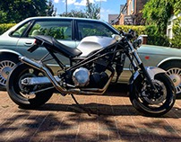 Custom hand built Triumph Speed Triple 900
