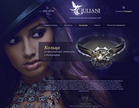 GIULIANI website design
