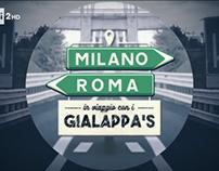 MILANO-ROMA / In viaggio con i Gialappa's