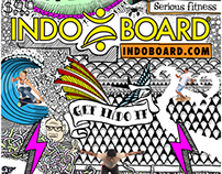 Indo Board Doodle Campaign