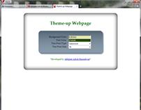 Theme-up Webpage