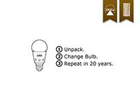 Print # IKEA LED Bulb
