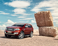 Ford Everest _ Pan Asia