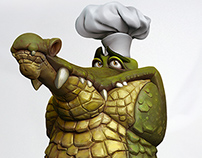 Croc Master Chef by Martin Punchev