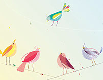 Birdy..a lot of birds...