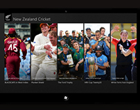 New Zealand Cricket Windows 8 App