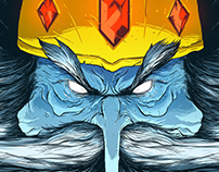 Rei gelado (Ice King) - Scary'toons Villains