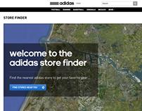 Adidas Store Locator