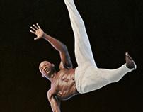 Gymnast (Anattomy Study)