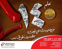Telecom Egypt _ 140 no.