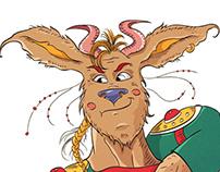 My Viking guy;))
