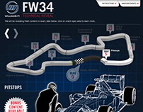 Williams F1 Facebook Application