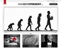 Man Buys Present Website