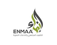 ENMAA | Calligraphy Logo