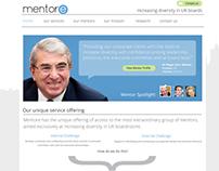 Mentore Website