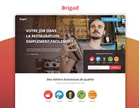 Brigad WebApp Design
