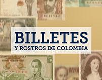 Billetes y Rostros de Colombia