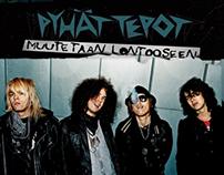 Pyhät Tepot -Album covers