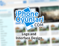 iPhoneOyunlari Interface Design