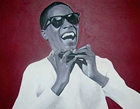 Little Stevie Wonder Portrait