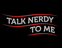 Talk Nerdy T-shirt Design