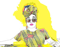 Fashion illustrations.