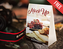 Promotional Table Talkers - Free PSD Mockup