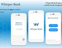 Bank App UX Concept