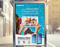 Samsung Galaxy Tab E Campaign